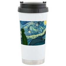 Van Goghs Cats Travel Mug