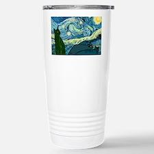 Van Goghs Cats Travel Mug