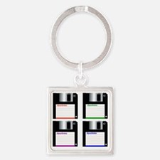 A-drive Square Keychain
