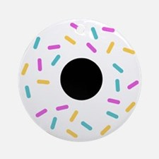 Do or donut Round Ornament