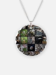 Ohio Mushrooms Necklace