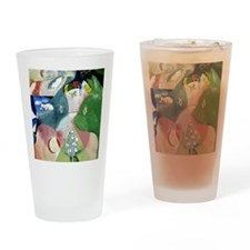 Chagalls Cats Drinking Glass
