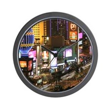 Vegas Strip Wall Clock
