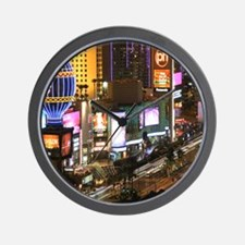 Vegas Strip Wall Clock