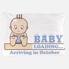 Arriving in October Pillow Case