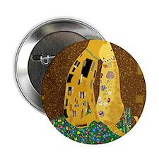 "Klimts Kats 2.25"" Button"
