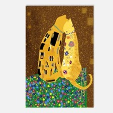 Klimts Kats Postcards (Package of 8)