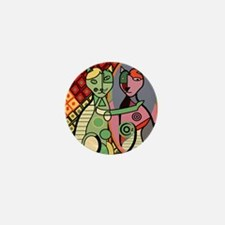 Picassos Cat Mini Button