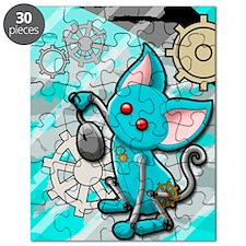 Robot cat Puzzle