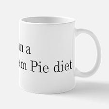 Boston Cream Pie diet Mug