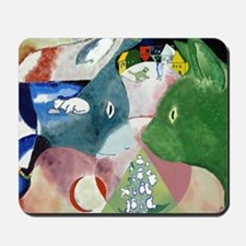 Chagalls Cats Mousepad