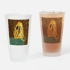 Klimts Kats Drinking Glass