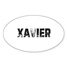 Xavier Oval Decal