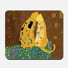 Klimts Kats Mousepad