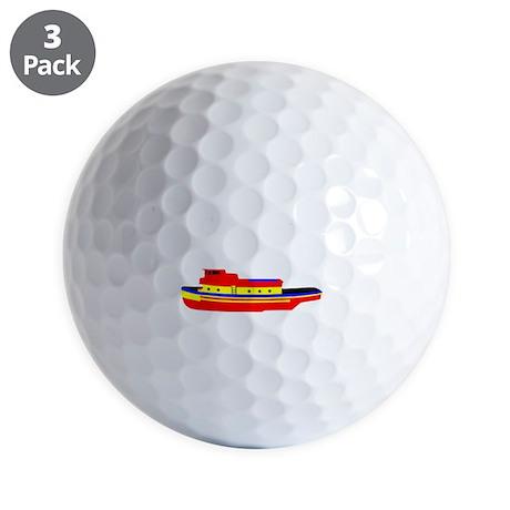 Perfect Tug Golf Balls