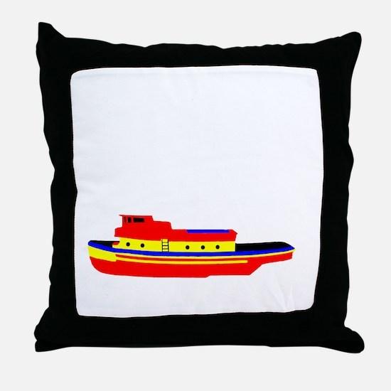 Perfect Tug Throw Pillow