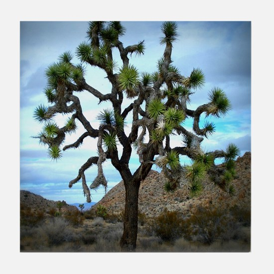 Joshua Tree Tile Coaster