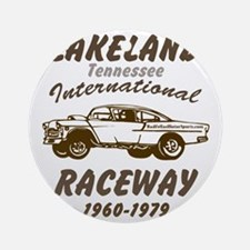 Lakeland International Raceway Round Ornament