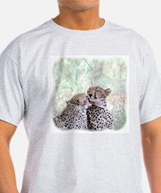 Cheetah Ash Grey T-Shirt