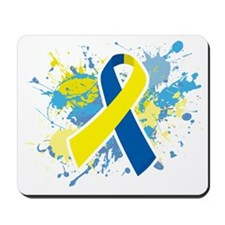 Down Syndrome Splatter Mousepad