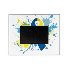 Down Syndrome Splatter Picture Frame