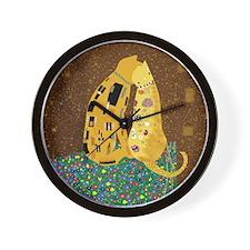 Klimts Kats Wall Clock