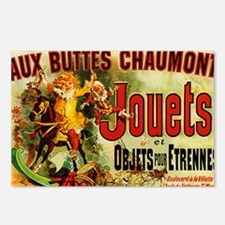 Aux Buttes Chaumont Jouet Postcards (Package of 8)