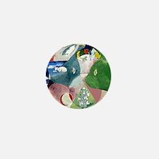 Chagalls Cats Mini Button