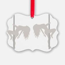 Pole Dancing Strippers Ornament