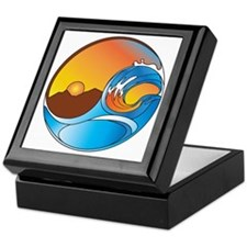 Orange County DotCom YinYang Keepsake Box