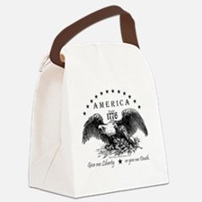 American Eagle Canvas Lunch Bag