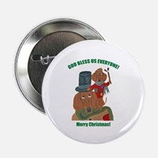 Dachshund Tiny Tim 2.25&Quot; Button (10 Pack)