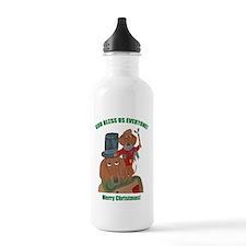 Dachshund Tiny Tim Water Bottle