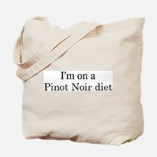 Pinot Noir diet Tote Bag