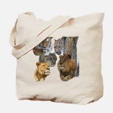 The Big Cats Tote Bag