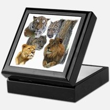 The Big Cats Keepsake Box
