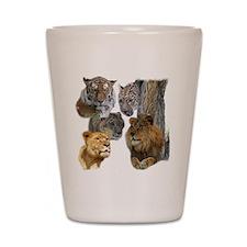 The Big Cats Shot Glass