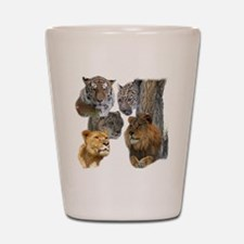 The Big Cats Shot Glass