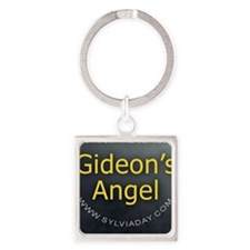 Gideons Angel Square Keychain