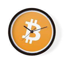bitcoinLogo10000 Wall Clock