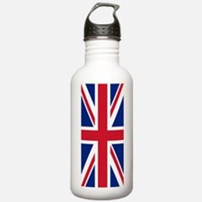 Union Jack British Fla Water Bottle