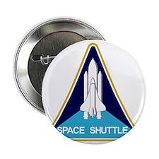 "Space Shuttle 2.25"" Button"