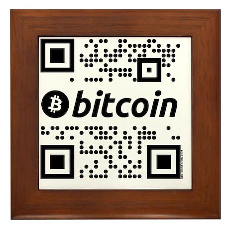 We use coins BW Framed Tile