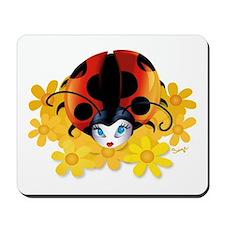Pretty Ladybug Mousepad