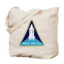 Space Shuttle Patch Tote Bag