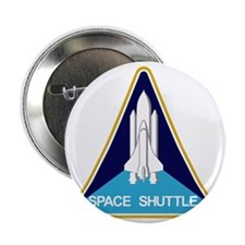 """Space Shuttle Patch 2.25"""" Button"""
