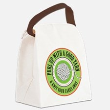 Purl Up Canvas Lunch Bag