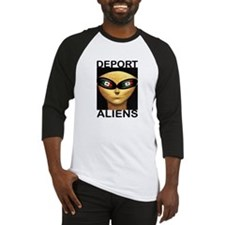 DEPORT ALIENS Baseball Jersey