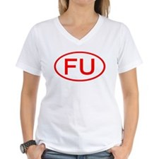 FU Oval (Red) Shirt