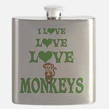 Love Love Monkeys Flask